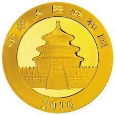 Gold Coin Chinese Panda 2016 - 30 Gram